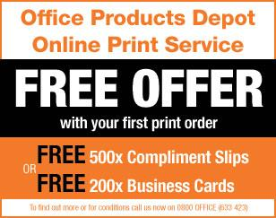 Office products Free offer with your first print order